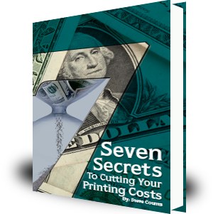 cut printing costs